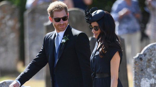 Harry expresses 'great sadness' at royal split