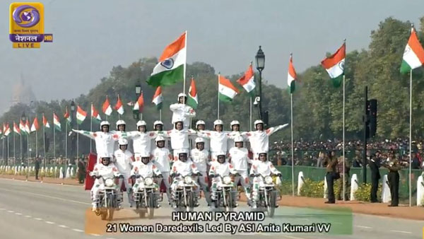 In Pics: Grand 71st Republic Day 2020 parade celebrations at Rajpath