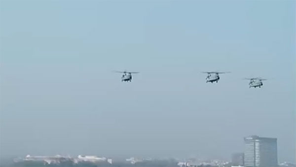 Republic Day 2020 LIVE: New entrants Chinook, Apache helicopters perform fly-past