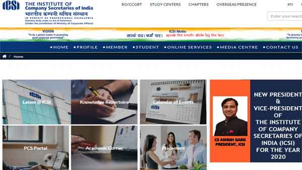 ICSI Foundation Result 2019 date, time website confirmed