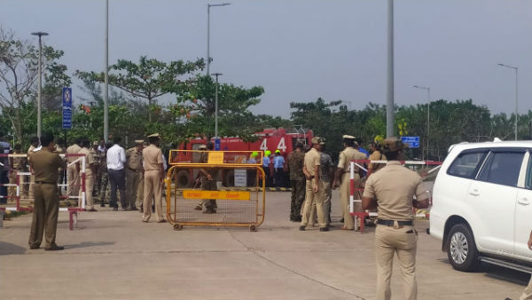 Abandoned laptop bag with IED content triggers bomb scare at Mangalore Airport