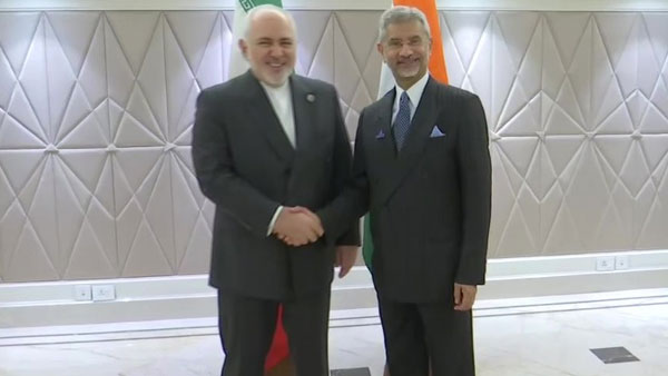 External Affairs Minister Jaishankar holds talks with Iranian counterpart Javad Zarif