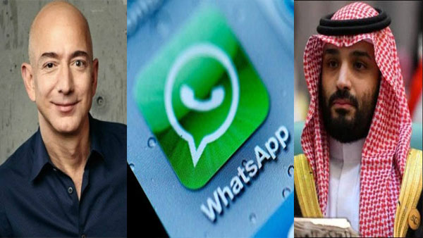 How malicious WhatsApp file sent from Saudi Crown Prince reportedly hacked Jeff Bezoss phone