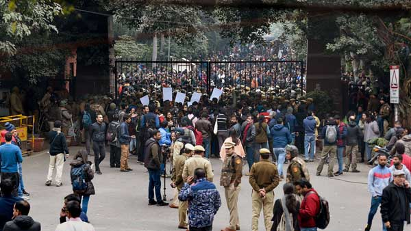 We responded to PCR calls on time says Delhi Police on JNU violence