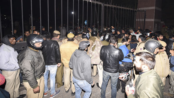 JNU campus violence: FIR registered, CCTV footages will be part of investigation