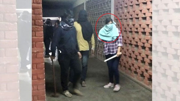 JNU violence: SIT identifies masked woman seen in viral videos as DU student, to serve notice
