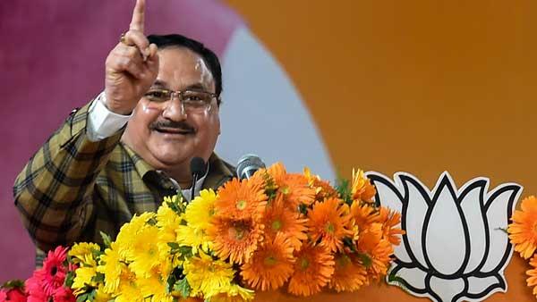 Challenge Rahul to speak 10 lines on CAA: Nadda