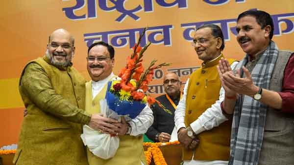 Modi-Shah's trusted lieutenant J P Nadda takes over as BJP president
