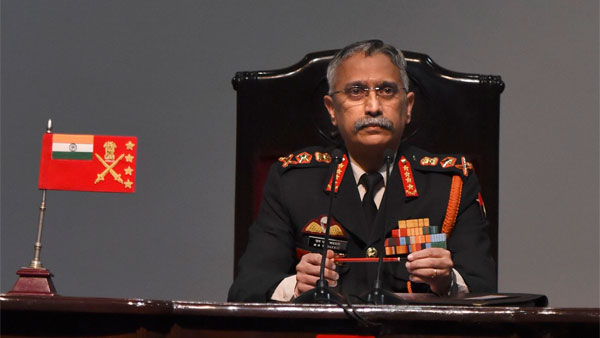 Chief of Army Staff Gen M M Naravane