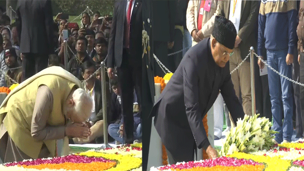 PM, Prez pay homage to Mahatma Gandhi on 72nd death anniversary