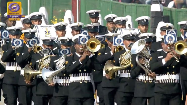 Naval Brass brand at Rajpath