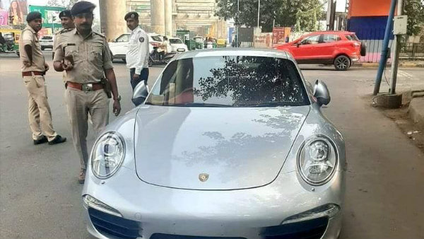 Porsche owner pays Rs 27.68 lakh to get back his impounded car 2020 911 sports car
