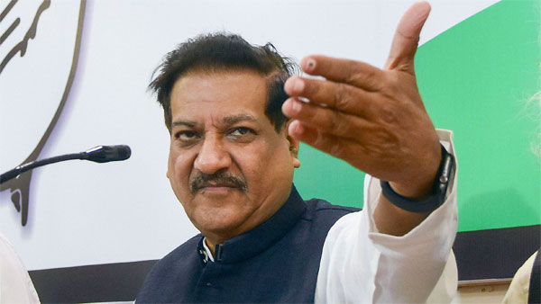 Former Maharashtra Chief Minister and Congress leader Prithviraj Chavan