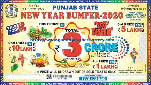 Punjab State New Year Bumper 2020 lottery result declared: How to collect prize money