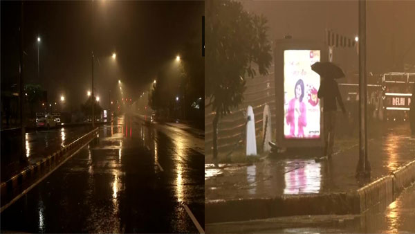 Weather update: Heavy rains, hailstorms predicted in Delhi today