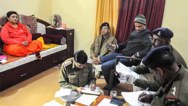 Sadhvi Pragya alleges receiving envelopes with chemicals