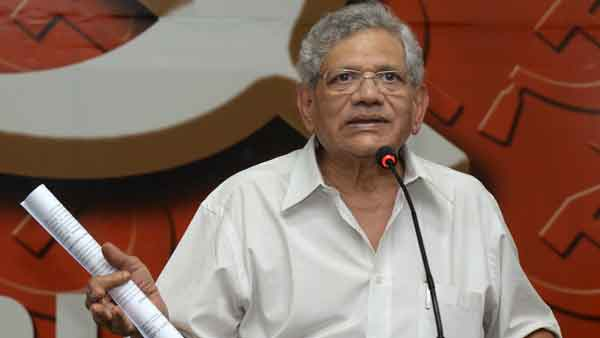 Kerala Police Act Amendment ordinance will be reconsidered: Sitaram Yechury