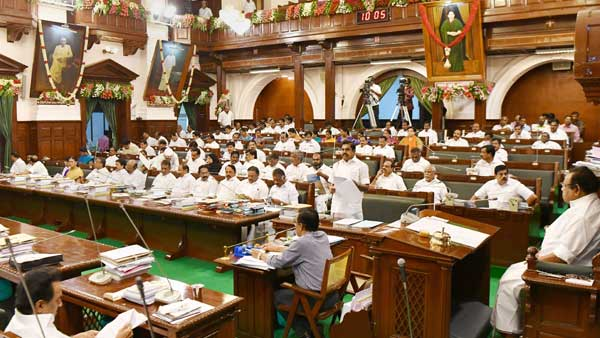 DMK stages walkout from Assembly, demands resolution against CAA