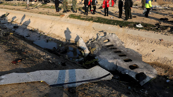 Iran announces arrests over downing of Ukrainian plane that killed 176 people