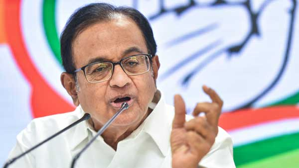 Shameful that Sadaf Jafar, Darapuri arrested without evidence: Chidambaram
