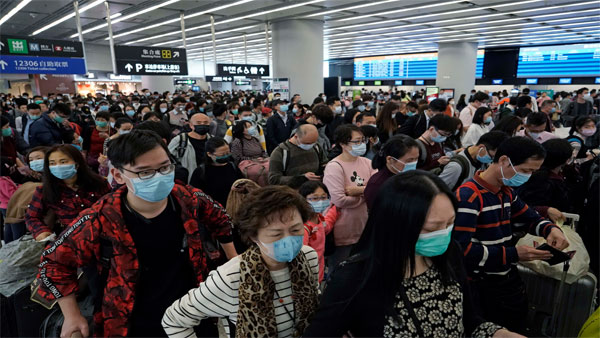 Coronavirus outbreak: China urges citizens to delay foreign travel over virus fears
