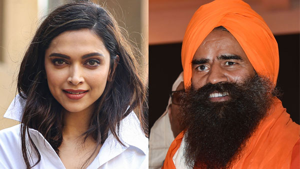 File photo of Deepika Padukone and Baba Ramdev