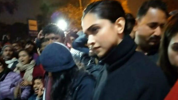 Deepika Padukone visits JNU, expresses solidarity with students after attack