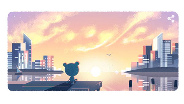 Happy New Year 2020: Google celebrates with doodle on weather frog, bird