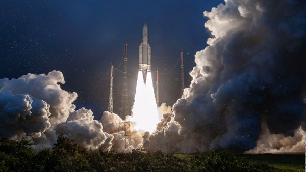 ISRO's GSAT-30 satellite successfully launched its first space mission of 2020, aboard Ariane rocket