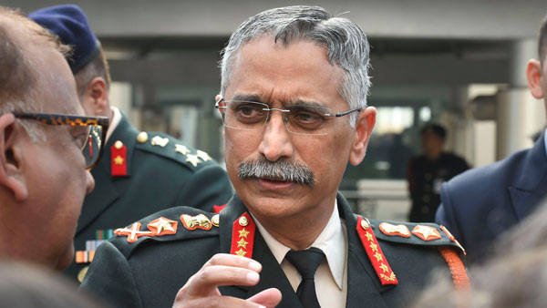General Naravane discusses security situation with top commanders of Indian Army