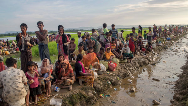 A big push by the ISI in India as Rohingya Muslims get aggressive