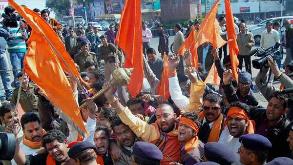 Valentines Day 2020: Will not tolerate indecent behaviour, says Bajrang Dal