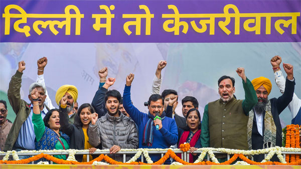 AAP's foray into national politics will begin by going local