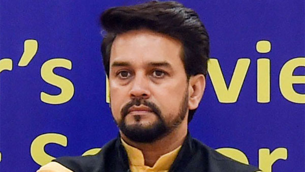 File photo of Anurag Thakur