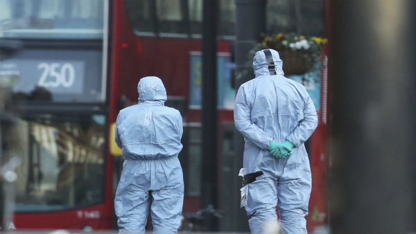 Man shot dead in London stab frenzy was convicted Islamist terrorist with family links to Lanka