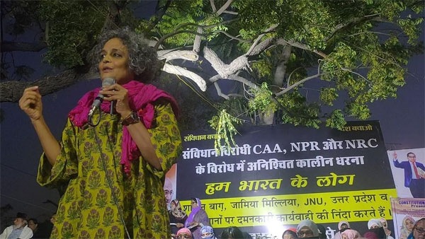 Women suffer most in NRC-like exercises: Arundhati Roy