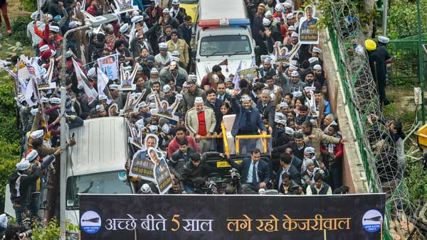 <strong>How Kejriwal's TINA campaign put AAP ahead of its opponents</strong>