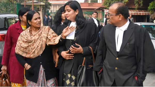 Satisfied but will be happy only when convicts are hanged, says Nirbhayas mother