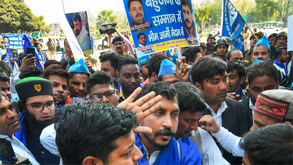 Bhim Army chief Chandrashekhar Azad