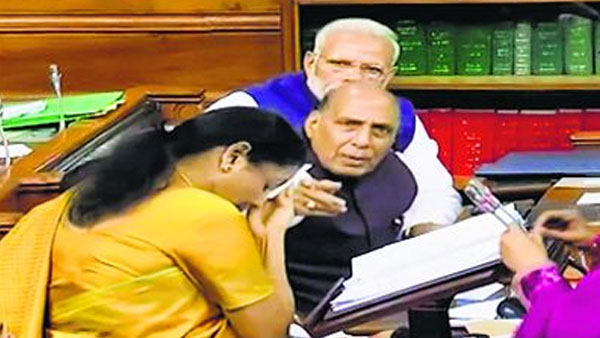 After 2 hrs 40 min, Sitharaman cuts short Budget speech