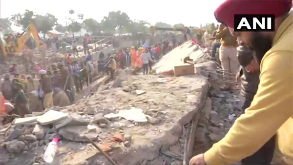 3-storey building collapses in Punjabs Mohali, several feared trapped