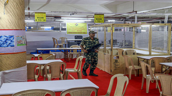 Three layered security in place: Counting set to begin at 8 am, trends by 11