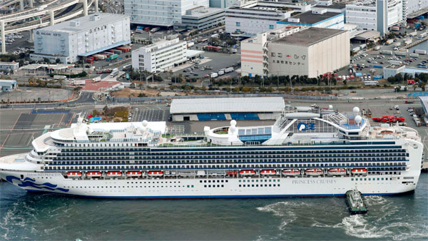 Coronavirus: Passenger from WB in SOS says, over 200 Indians stuck in quarantined Japan ship