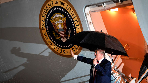 Donald Trump may land in Jaipur if Delhi weather is poor