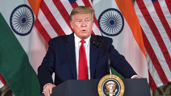 Markets will jump thousands of points if I win: Trump tells India Inc