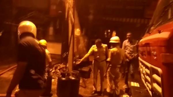 Massive fire breaks out at an eatery near Koramangala in Bengaluru