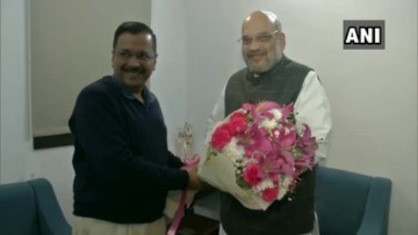 Had a very good and fruitful meeting: Kejriwal after meeting Union HM Amit Shah