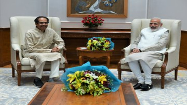 Uddhav Thackeray and Narendra Modi