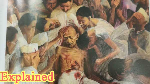 Heres why the cover page of Kerala budget document had Mahatma Gandhi's assassination image