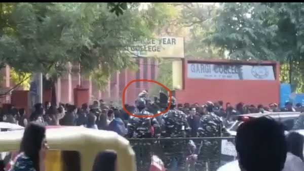 My skirt was lifted: Gargi College fest turns ugly, girls allege mass molestation